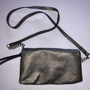 Nine West Bags - Small Gray Nine West Crossbody Purse